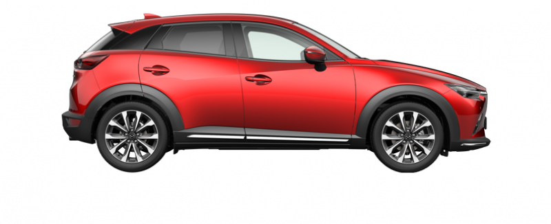 Mazda CX-3 Luxury red